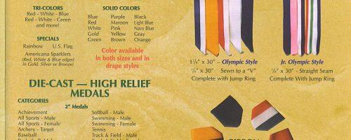 Neck Ribbons / Drapes