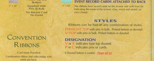 Custom Flat Ribbons