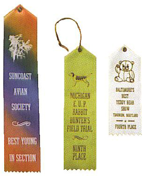 Specify Pin or Cord & Ribbon Size